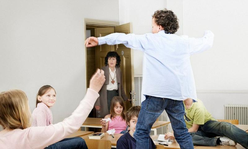 Гиперактивность детей