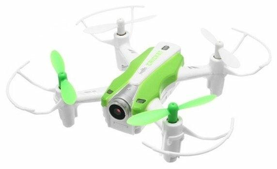 CXHOBBY CX-17 - полет: до 7мин., дальность 20м по Wi-Fi/Bluetooth, 30м по радиоканалу, скорость 5м/с