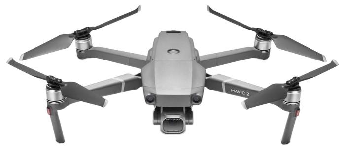 DJI Mavic 2 Pro - полет: до 31мин., дальность 5000м по радиоканалу, высота 500м, скорость 20м/с