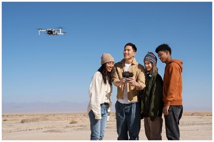 DJI Mini 2 Fly More Combo - навигационная система: ГЛОНАСС, GPS, Galileo