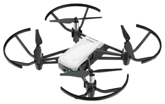Ryze Tech Tello - полет: до 13мин. дальность 100м по Wi-Fi/Bluetooth, скорость 8м/с