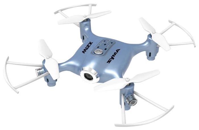 Syma X21W - функции: автоматические флипы, Draw, автоматический взлет и посадка, headless mode, вид от первого лица (FPV)