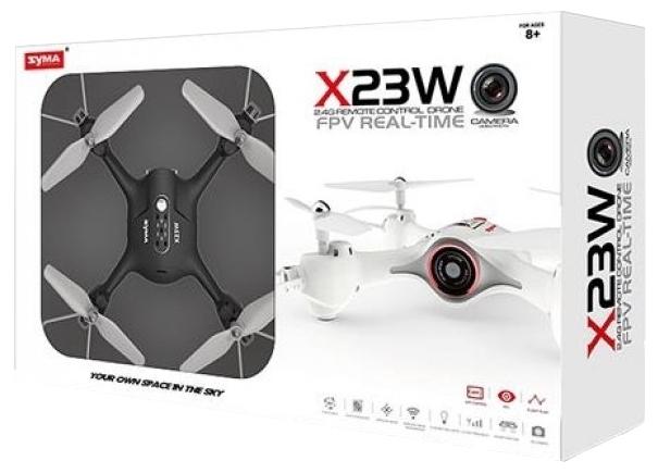Syma X23W - не требует регистрации для полетов