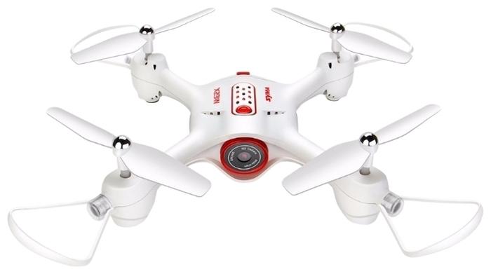Syma X23W - функции: 3D пилотирование, автоматические флипы, автоматический взлет и посадка, headless mode, облет заданных точек, вид от первого лица (FPV)