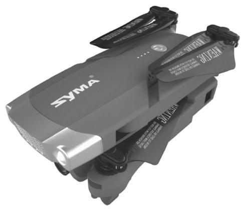 Syma X30 - вес: 205г, не требует регистрации для полетов