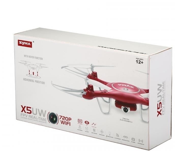 Syma X5UW - размеры (ДхШхВ): 320x320x70мм