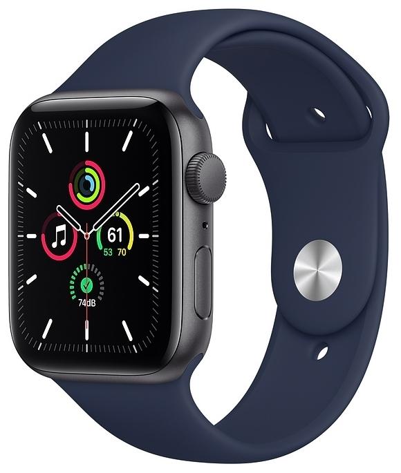 Apple Watch SE GPS 44мм Aluminum Case with Sport Band - интерфейсы: Wi-Fi, NFC, Bluetooth 5.0