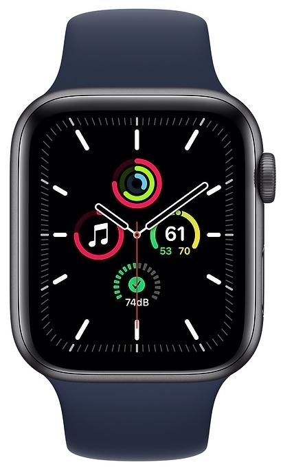 Apple Watch SE GPS 44мм Aluminum Case with Sport Band - материал корпуса: алюминий