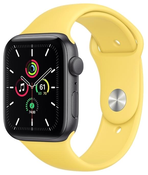 Apple Watch SE GPS 44мм Aluminum Case with Sport Band - звонки: возможность ответа