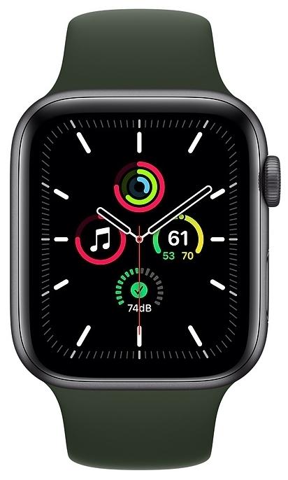 Apple Watch SE GPS 44мм Aluminum Case with Sport Band - операционная система: Watch OS