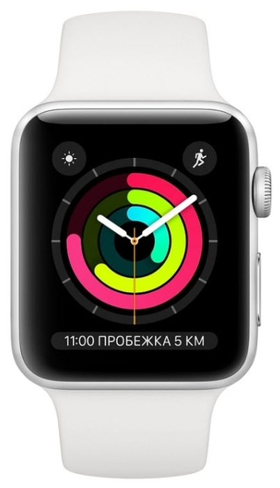 Apple Watch Series 3 42мм Aluminum Case with Sport Band - операционная система: Watch OS