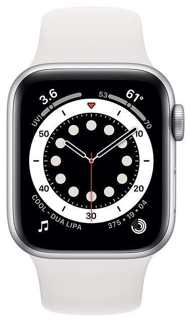 Apple Watch Series 6 GPS 40мм Aluminum Case with Sport Band - совместимость: iOS