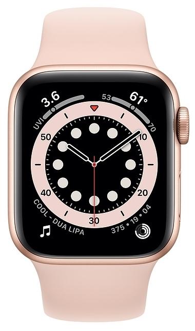 Apple Watch Series 6 GPS 40мм Aluminum Case with Sport Band - интерфейсы: Wi-Fi, NFC, Bluetooth 5.0