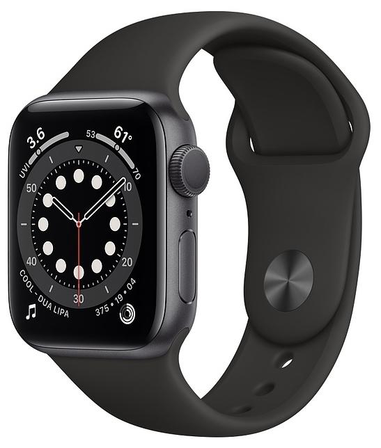 Apple Watch Series 6 GPS 40мм Aluminum Case with Sport Band - звонки: возможность ответа