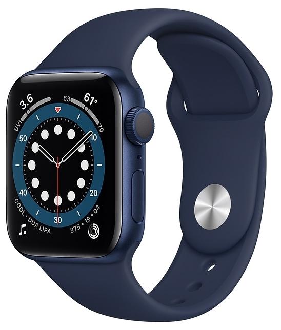 Apple Watch Series 6 GPS 40мм Aluminum Case with Sport Band - операционная система: Watch OS