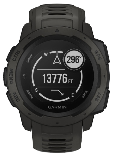 Garmin Instinct - совместимость: iOS, Android