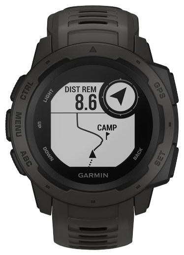Garmin Instinct - водонепроницаемость: WR100 (10атм)