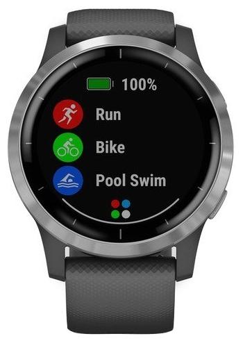 Garmin Vivoactive 4 - интерфейсы: Wi-Fi, NFC, Bluetooth