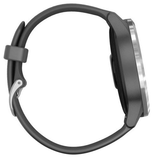 Garmin Vivoactive 4 - материал корпуса: нерж. сталь, полимер