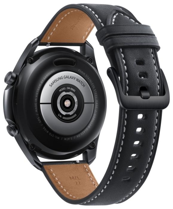 Samsung Galaxy Watch3 45мм - совместимость: iOS, Android