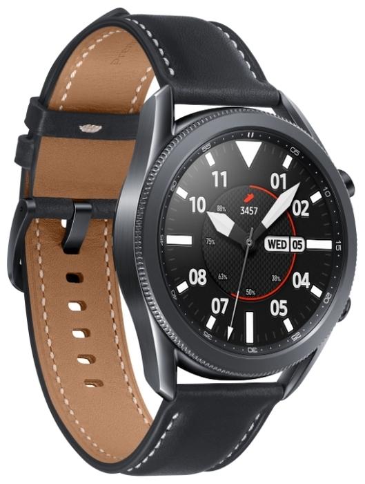 Samsung Galaxy Watch3 45мм - водонепроницаемость: WR50 (5атм)