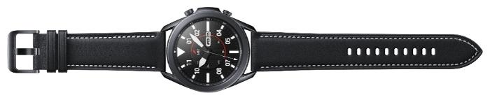 Samsung Galaxy Watch3 45мм - материал корпуса: нерж. сталь