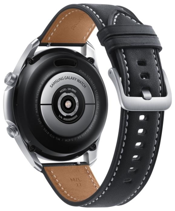 Samsung Galaxy Watch3 45мм - мониторинг: калорий, физической активности, сна, уровня кислорода