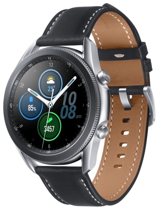 Samsung Galaxy Watch3 45мм - датчики: акселерометр, гироскоп, высотомер, пульсометр с постоянным измереним пульса, ЭКГ, тонометр