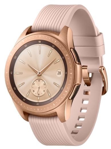 "Samsung Galaxy Watch 42мм - экран: 1.18"" (360x360) Super AMOLED"