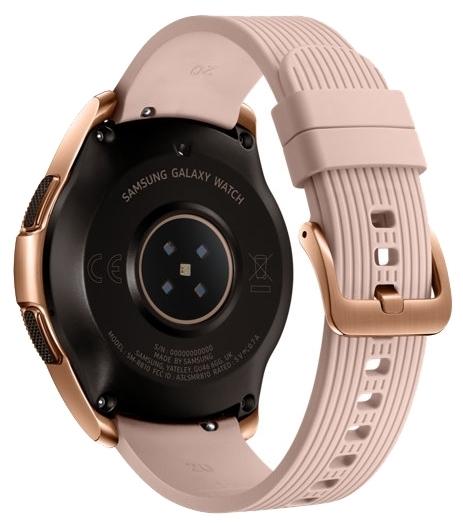 Samsung Galaxy Watch 42мм - водонепроницаемость: WR50 (5атм)