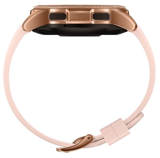 Samsung Galaxy Watch 42мм - материал корпуса: нерж. сталь