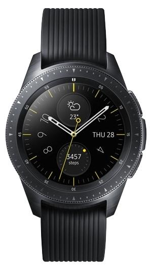 Samsung Galaxy Watch 42мм - датчики: акселерометр, гироскоп, высотомер, пульсометр с постоянным измереним пульса
