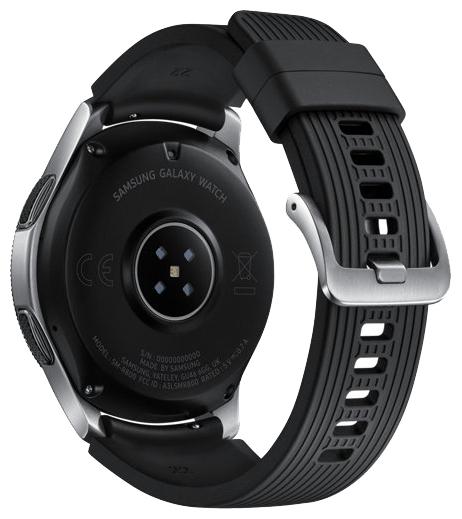 Samsung Galaxy Watch 46мм - водонепроницаемость: WR50 (5атм)