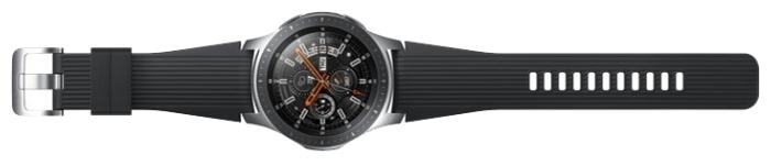 Samsung Galaxy Watch 46мм - материал корпуса: нерж. сталь