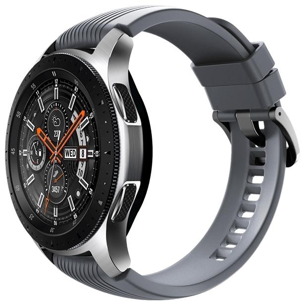 Samsung Galaxy Watch 46мм - датчики: акселерометр, гироскоп, высотомер, пульсометр с постоянным измереним пульса