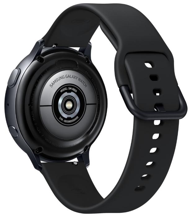Samsung Galaxy Watch Active2 алюминий 40мм - водонепроницаемость: WR50 (5атм)