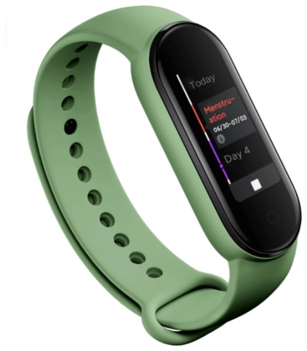 Xiaomi Mi Band 5 - мониторинг: калорий, физической активности, сна