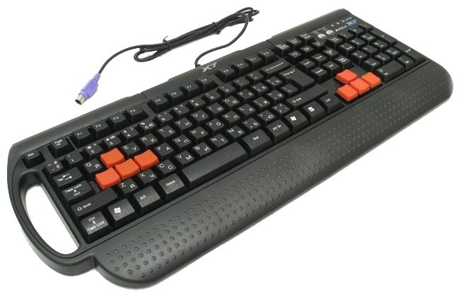 A4Tech X7-G700 Black PS/2 - подключение: проводная