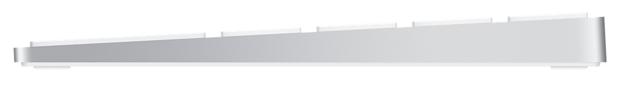 Apple Magic Keyboard with Numeric Keypad (MQ052RS/A) Silver Bluetooth - подключение: беспроводная (Bluetooth)