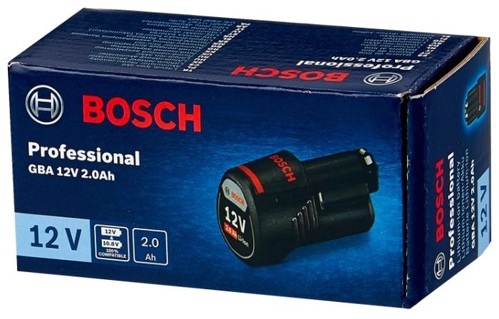 BOSCH 1600Z0002X Li-Ion 12 В 2 А·ч - тип аккумулятора: Li-Ion
