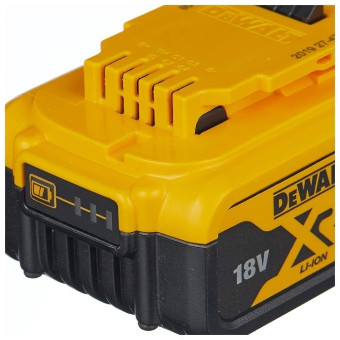 DeWALT DCB184-XJ Li-Ion 18 В 5 А·ч - тип аккумулятора: Li-Ion
