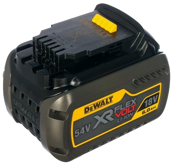 DeWALT DCB546-XJ Li-Ion 18 В 6 А·ч - конструкция аккумулятора: слайдер