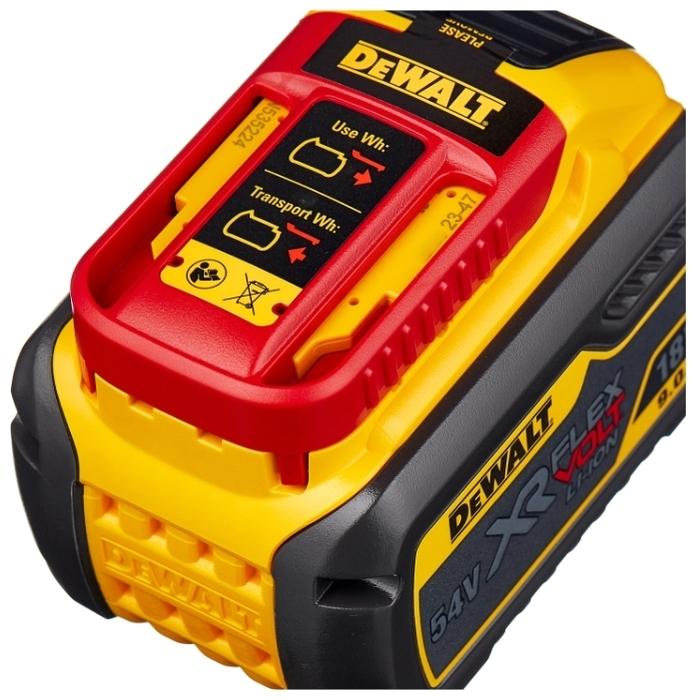 DeWALT DCB547-XJ Li-Ion 18 В 9 А·ч - тип аккумулятора: Li-Ion