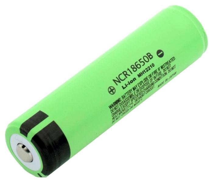 Li-Ion 3400 мА·ч Panasonic NCR18650B - типоразмер: 18650