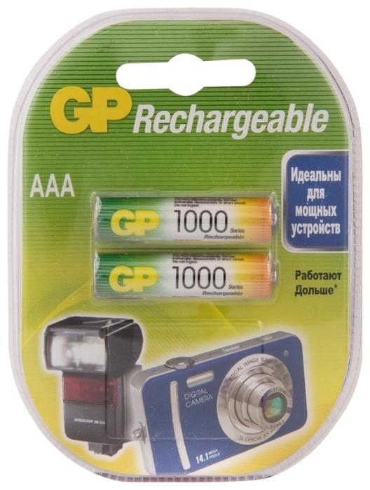 Ni-Mh 950 мА·ч GP Rechargeable 1000 Series AAA - технология: Ni-Mh