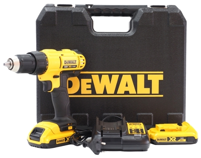 DeWALT DCD771D2 - вес: 1.6кг