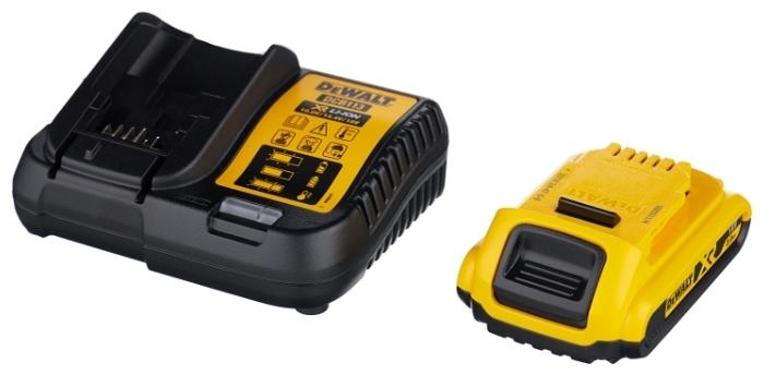 DeWALT DCD791D2 - особенности конструкции: лампа точечной подсветки, блокировка кнопки включения, фиксация шпинделя, регулировка частоты вращения