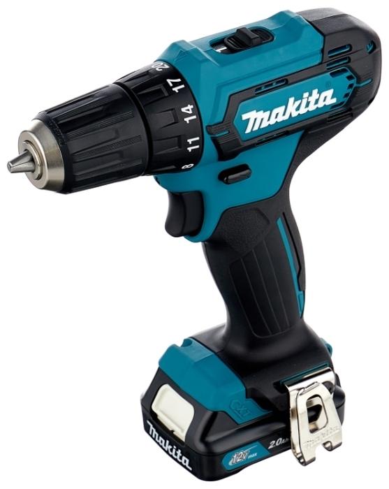Makita DF333DWAE - напряжение аккумулятора: 12В