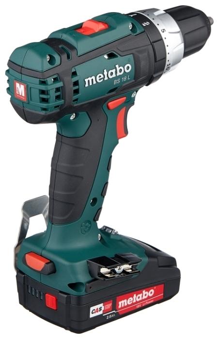 Metabo BS 18 L 2.0Ач х2 кейс - макс. диаметр сверления (металл): 10мм