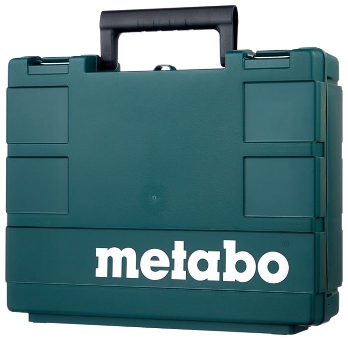 Metabo BS 18 L 2.0Ач х2 кейс - вес: 1.6кг